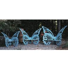 medium butterfly bench verdi cricket forge outdoor furniture