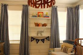 Gingham Curtains Blue Bungalow Blue Interiors Home A Great Before And After