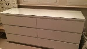 malm ikea dresser drawer brown and white ikea malm 6 drawer dresser for home