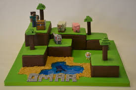 minecraft island cake boys birthday cakes celebration cakes
