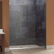 48 Shower Doors Dreamline Mirage 44 48 In Width Frameless Sliding Shower Door 3