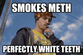Jesse Meme - smokes meth perfectly white teeth scumbag jesse pinkman quickmeme