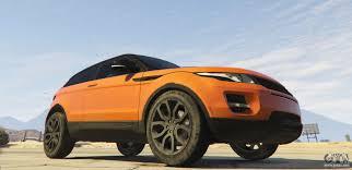 orange range rover evoque range rover evoque 3 0 for gta 5