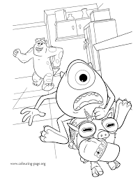 monsters university coloring pages u2013 birthday printable