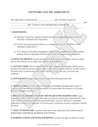 top 5 resources to get software license agreement templates word