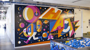 facebook office design 21 incredibly cool design office murals murals facebook and