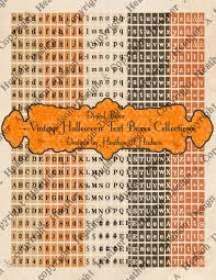 heather a hudson vintage halloween diy digital card fronts