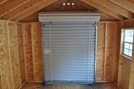 Exterior Shed Doors How To Repair Roll Up Shed Doors Doors Craft