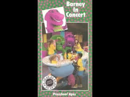 Vhs Barney U0026 Backyard Gang by Barney U0026 The Backyard Gang Barney In Concert Cassette Youtube