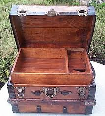 how to restore antique trunks and trunk restoration refurbished