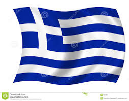 Flag With Cross And Stripes Greek Flag Stock Illustration Illustration Of Cross Stripes 60486
