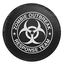 zombie hunter jeep zombie outbreak response team spare tire cover