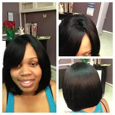 which hair is better for sew in bob evolution hair salon llc full sew in weave pleasantville nj