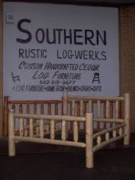 Rustic Bedroom Furniture Suites Amazon Com Rustic 5 Pc Pine Log Bedroom Suite Lodge Bed Queen