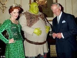 shrek u0027s princess fiona meets prince charles