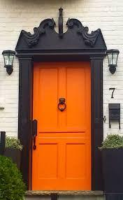 Door House by Best 20 Orange Door Ideas On Pinterest Orange Front Doors
