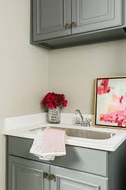 fabulous laundry room features walls painted sherwin williams