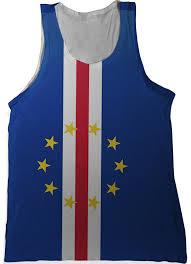 Flag Cape Cape Verde Flag Tank Top Nation Tanks
