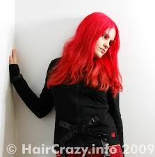 Cherry Bomb Hair Color Buy Bright Pink Toned Red Hair Colour At Haircrazy Com