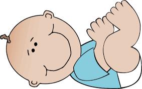 baby boy lying clip at clker vector clip