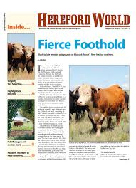 october 2016 hereford world by american hereford association and