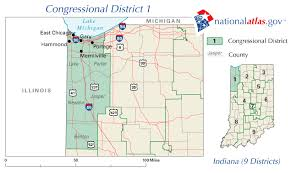 indiana map us file united states house of representatives indiana district 1