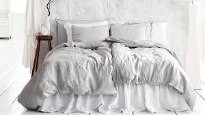 light gray bedding interior designs