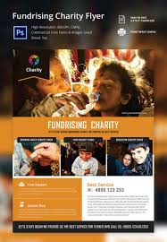 ngo brochure templates fundraiser invitation free psd vector eps and raffle flyer and