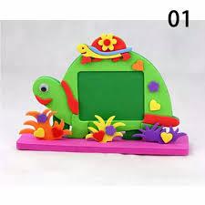 online shop 1pc diy kits photo frame foam craft toy educational