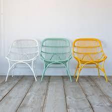Colorful Wicker Patio Furniture Open Weave All Weather Wicker Side Chair Open Weave Side Chair