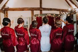 bridesmaids robes cheap bridesmaid robes burgundy wedding robe cheap bridesmaid