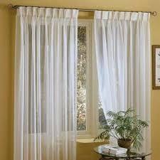 sheer linen curtains amazon com