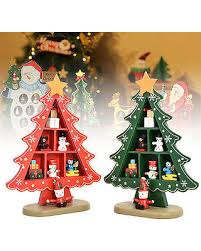 get the deal home decoration plaid wooden tree