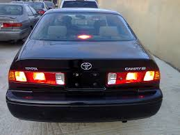 best toyota model 2001 toyota camry tokunbo fat light for sale super clean and best