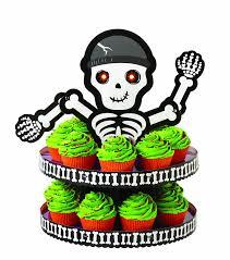 Halloween Skeleton Cupcakes by Halloween Cupcake Stands Halloween Wikii