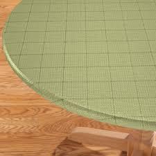Elasticized Table Cover Woven Lattice Elasticized Table Cover Kitchen Miles Kimball