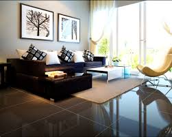 apartments enchanting black leather sofa living room decoration