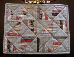 quilted placemats material quilts