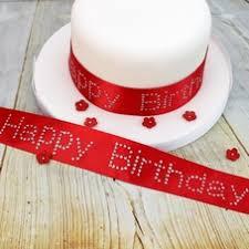 happy birthday ribbon happy birthday ribbons