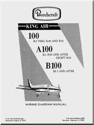 beechcraft king air 90 a90 b90 c90 e90 aircraft wiring diagram