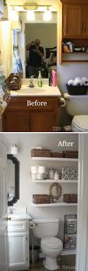 small bathroom makeover ideas best 25 small bathroom makeovers ideas on small