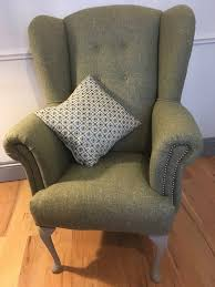 Wingback Armchair Uk Scruffy Upholstery Reupholstery Service Based In North Yorkshire