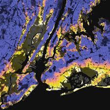 Population Density World Map by New York City New York U2013 Elevation And Population Density 2010