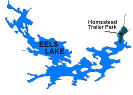 Eels Lake Cottage Rental by Eels Lake And Surrounding Area Of Homestead Trailer Park