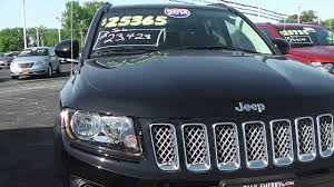 2014 jeep compass latitude suv black for sale dayton troy piqua