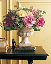 from the garden ornamental cabbages and kales martha stewart