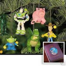 disney story storybook ornaments toys