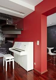 deco contemporaine chic déco maison en rouge pour un appartement moderne vivons maison