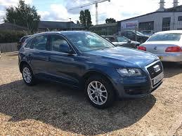 Audi Q5 Blue - second hand audi q5 2 0 tdi se s tronic quattro 5dr for sale in st