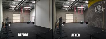 mural painting for crossfit gyms yoga health and wellness crossfit gym b a